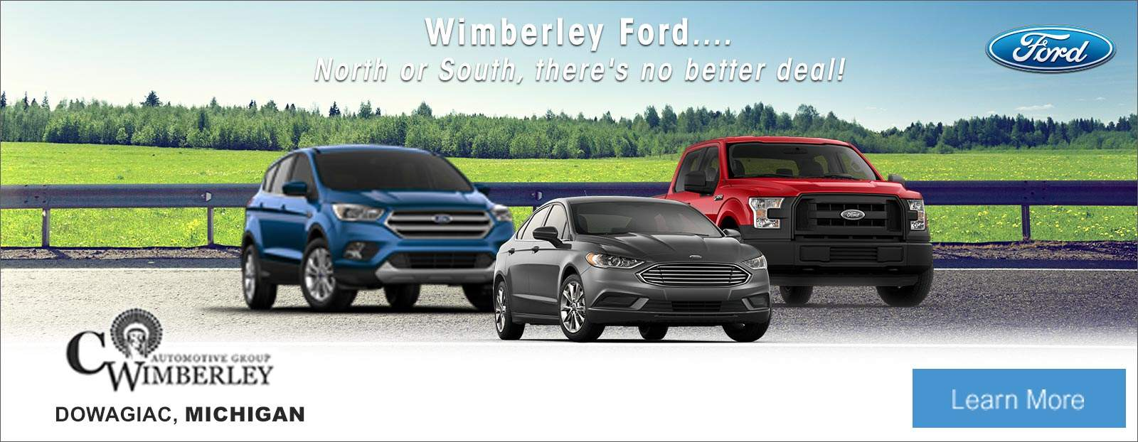 New & Used Vehicles from Ford, Chevrolet, Buick and GMC